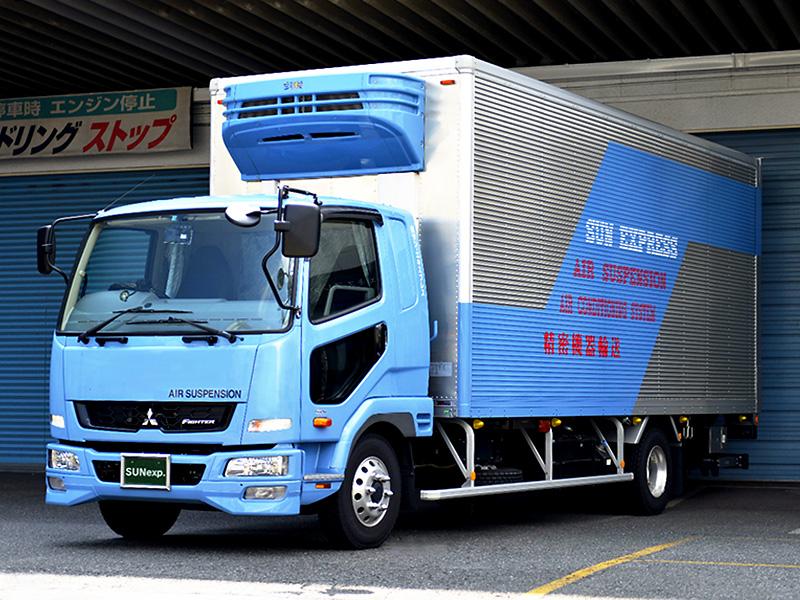 4トンバン・エアサス・空調・パワーゲート付